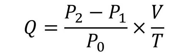 Tính chính xác công suất của máy nén khí